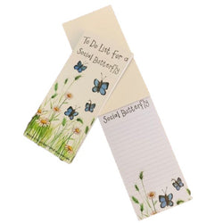 BUTTERFLY TO DO LIST MAGNETIC NOTE PAD