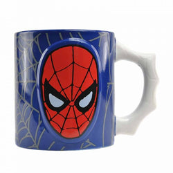 SPIDER MAN EMBOSSED MUG