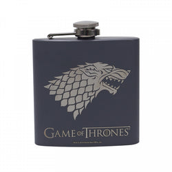 GAME OF THRONES STARK WINTER IS COMING HIP FLASK