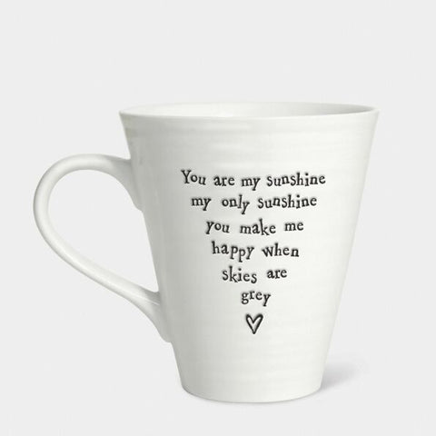 'YOU ARE MY SUNSHINE...' CONICAL MUG