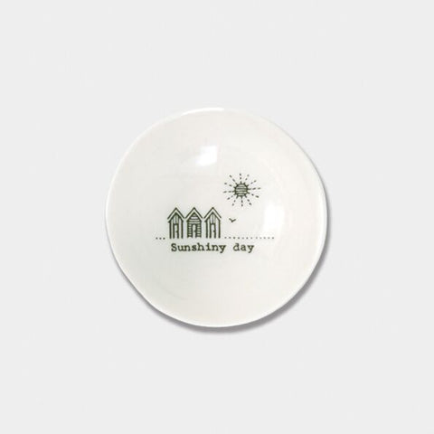 'SUNSHINY DAY' MINI WOBBLE TRINKET DISH