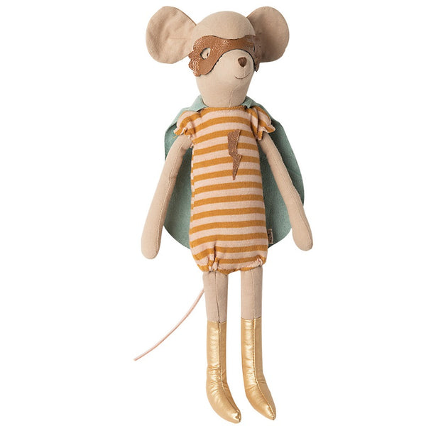 Maileg Super Hero Mouse - Medium Girl