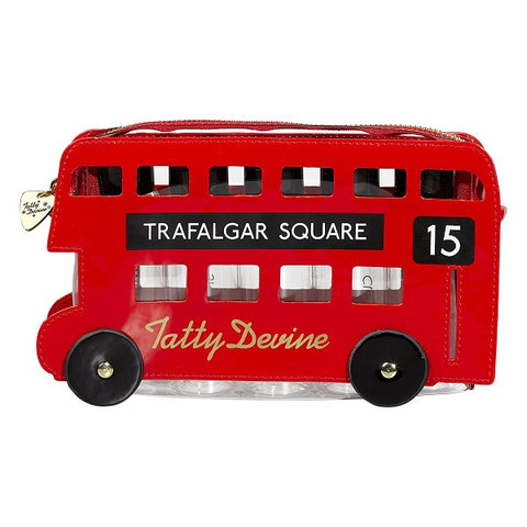 LONDON BUS WASH BAG