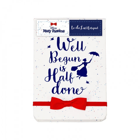 MARY POPPNS TO DO LIST NOTEBOOK