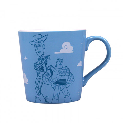 TOY STORY WOODY AND BUZZ TAPERED MUG