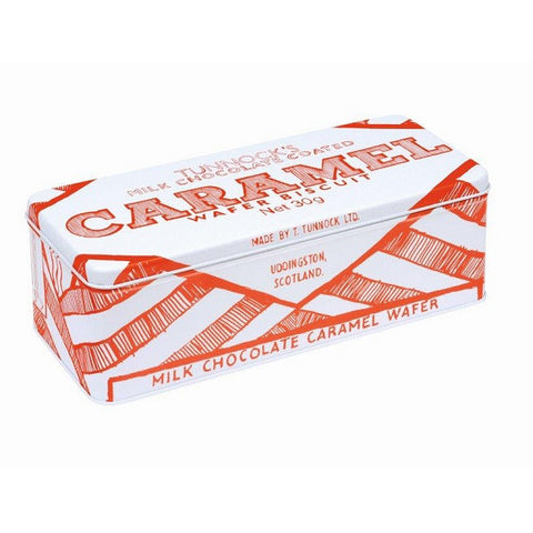 'TUNNOCKS CARAMEL' BISCUIT TIN