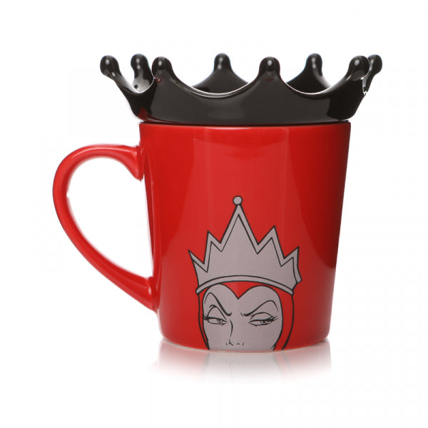 DISNEY VILLAINS EVIL QUEEN SHAPED MUG