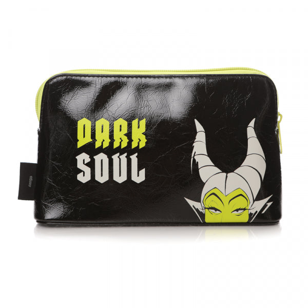 DISNEY VILLAINS MALEFICENT COSMETIC BAG