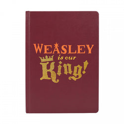 HARRY POTTER WEASLEY IS OUR KING A5 NOTEBOOK