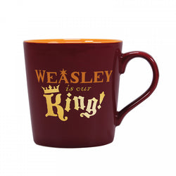 HARRY POTTER WEASLEY IS OUR KING TAPERED MUG