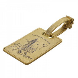 WINNIE THE POOH FLY ANYWHERE LUGGAGE TAG