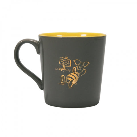 WINNIE THE POOH I'D RATHER BE IN BED TAPERED MUG