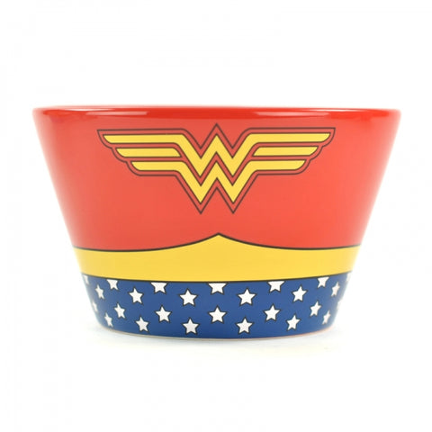WONDER WOMAN COSTUME BOXED BOWL