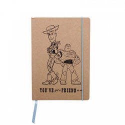 TOY STORY WOODY AND BUZZ A5 NOTEBOOK