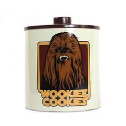 STAR WARS WOOKIEE COOKIED BISCUIT BARREL