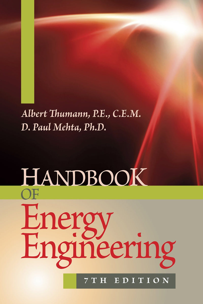 Handbook Of Energy Engineering, 7th Edition - AEE Programs