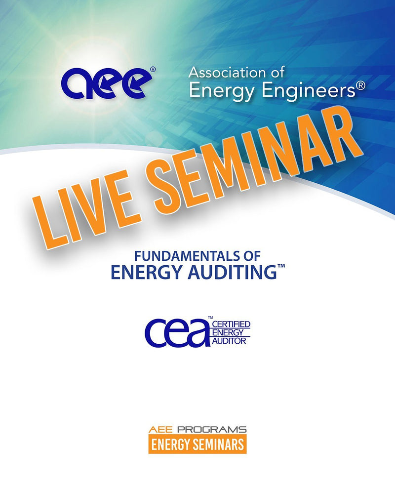 Fundamentals Of Energy Auditing™ - AEE Programs