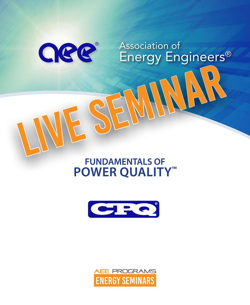 Fundamentals Of Power Quality™ - AEE Programs