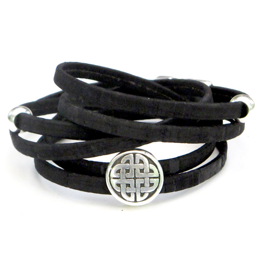 Black Celtic Knot Whirly