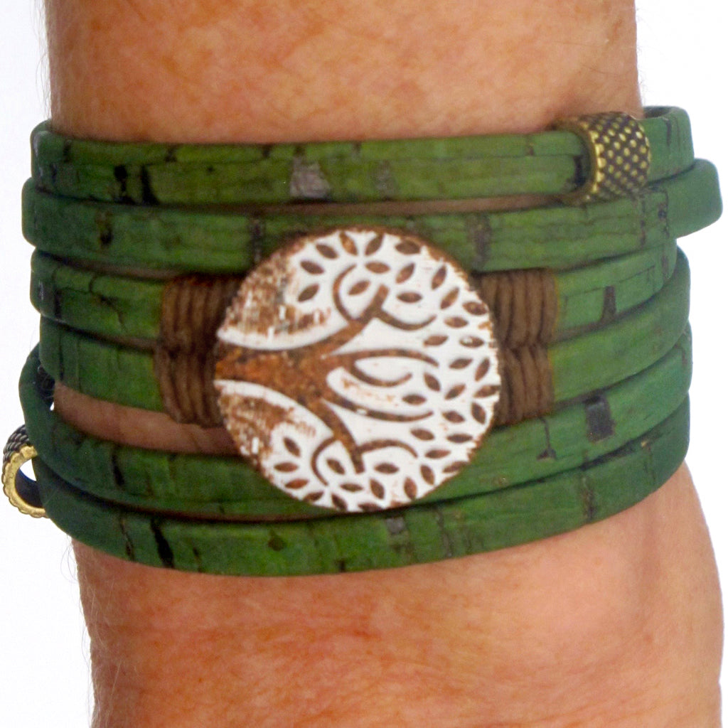 Green Cork Tree of Life - SMALL
