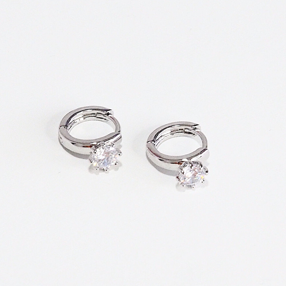 [SET OF 2] The Celso Huggies (925 Silver Stud)