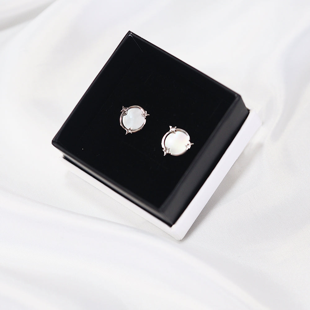 [INDIVIDUAL] Bode's Galaxy Earrings (925 Silver Stud)