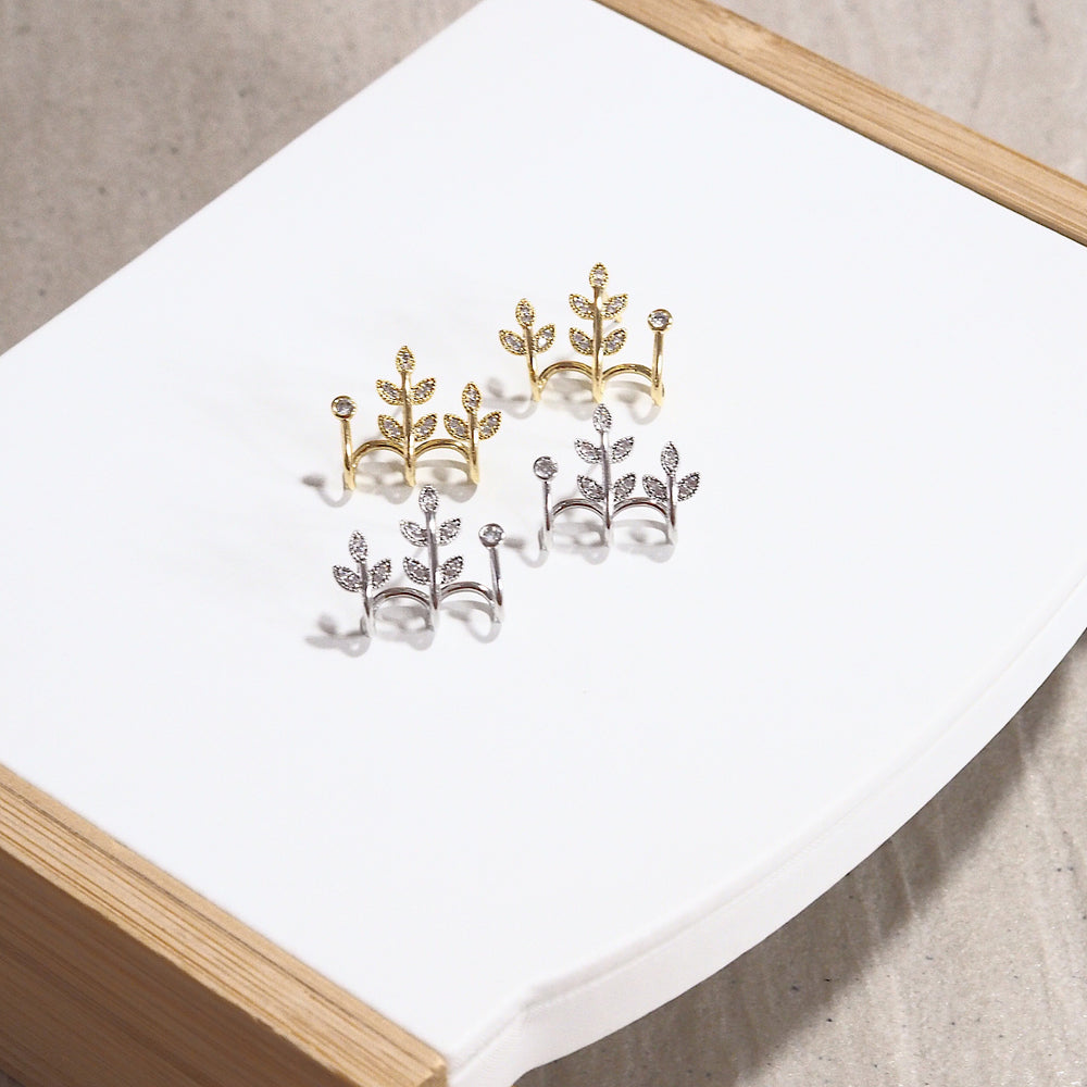 The Evea Earrings (925 Silver Stud)