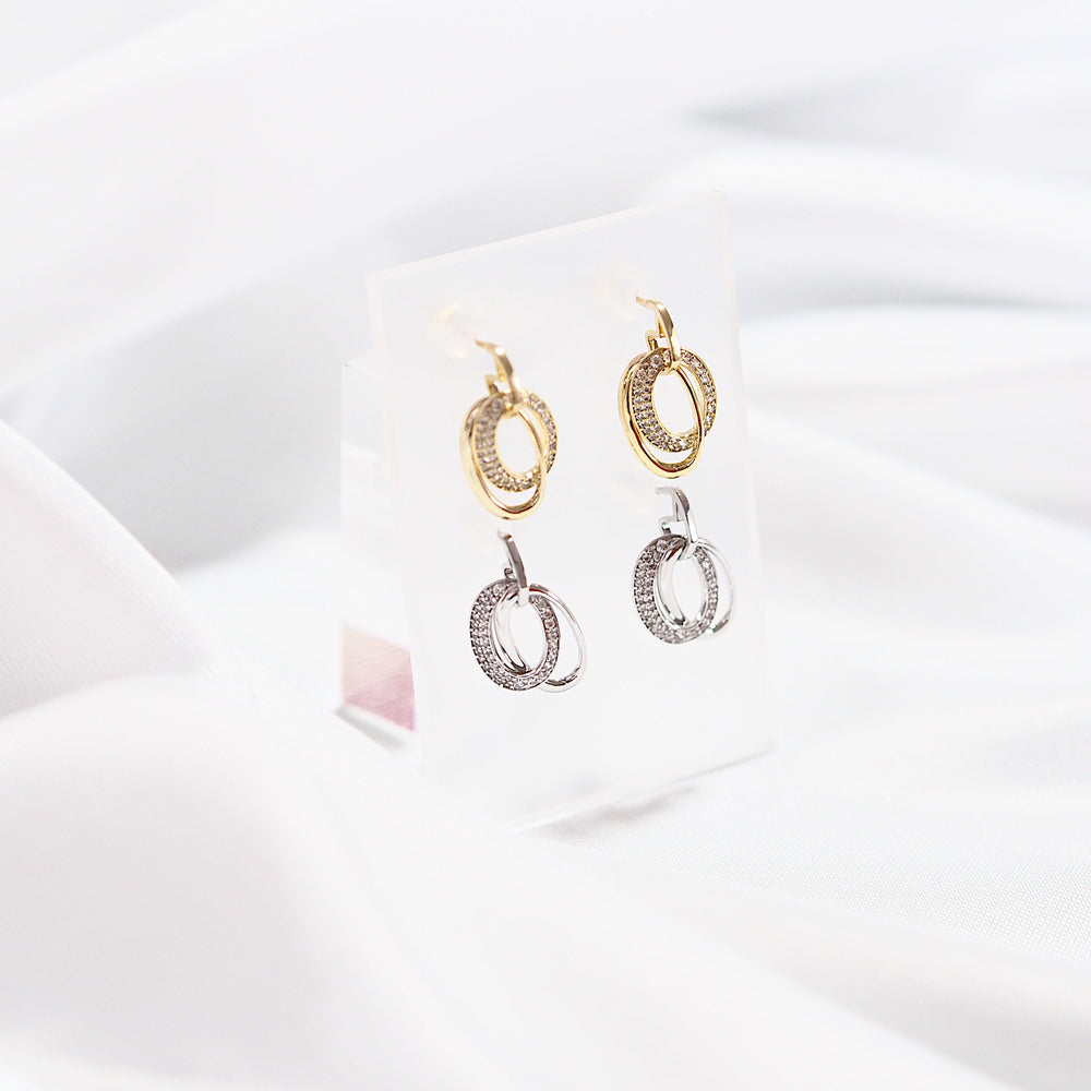 [INDIVIDUAL] Rio Earrings (925 Silver Stud)