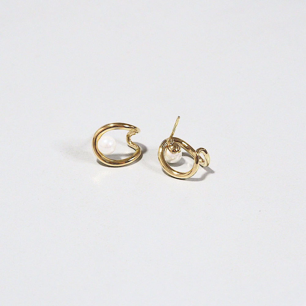 [INDIVIDUAL] Channer Earrings (925 Silver Stud)