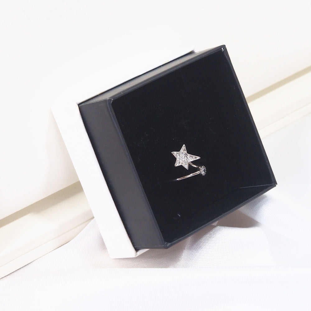 The Shooting Star Ring [silver]