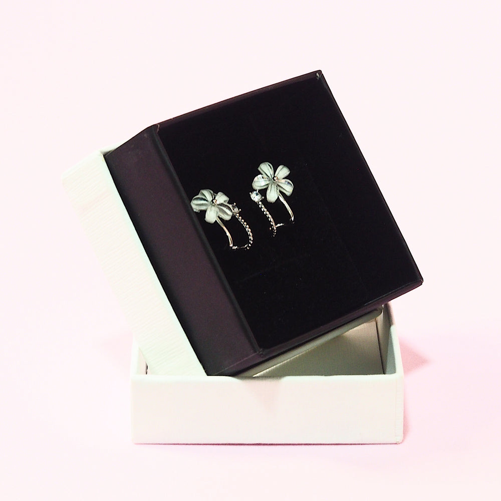 Diantha Floral Studded Earrings (925 Silver Stud)