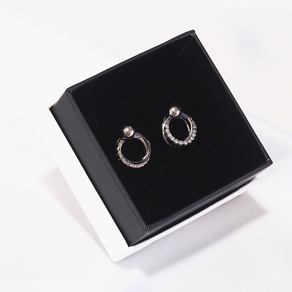 [SET OF 2] Moey Earrings (925 Silver Stud)