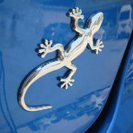 Gecko Lizard Waterproof Decal Great for Cars and Motorcycles