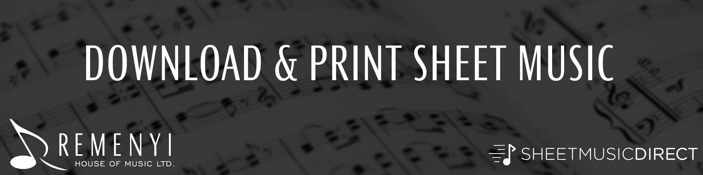 Download & Print Sheet Music