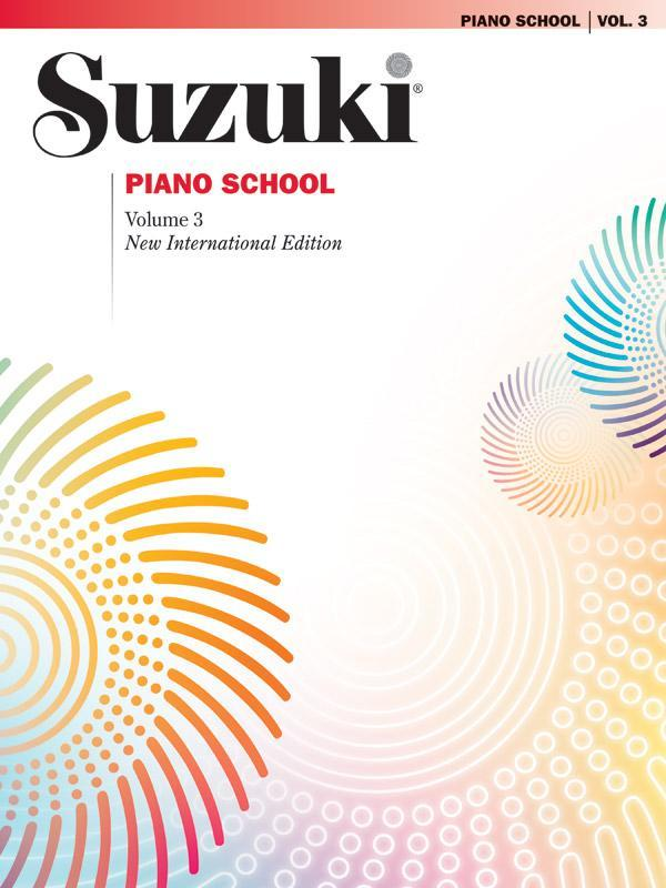 Suzuki Piano School New International Edition Piano Book, Volume 3