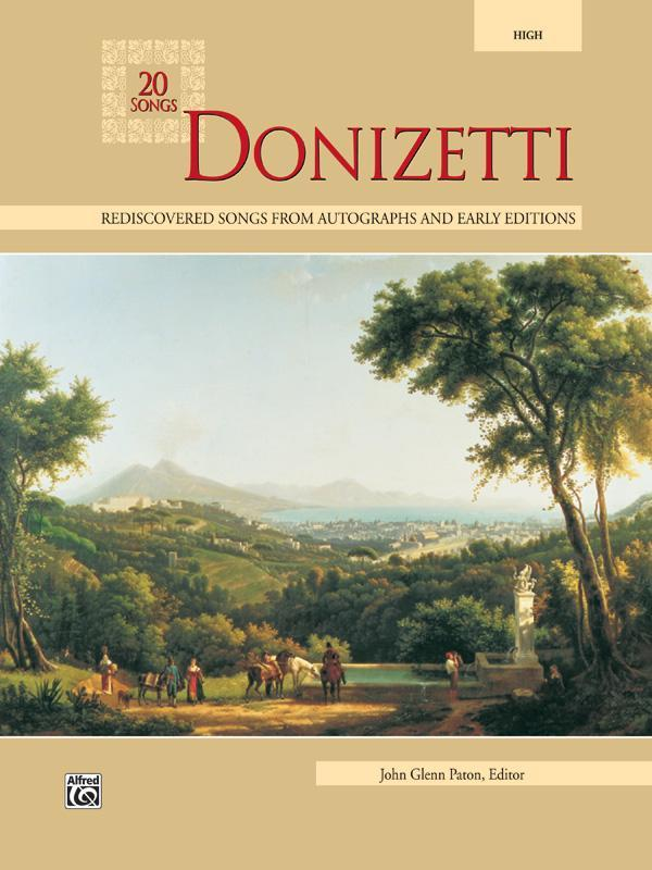 Donizetti (High Voice Book)