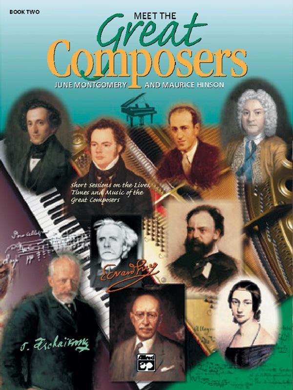Meet the Great Composers, Book 2 (Piano Book)