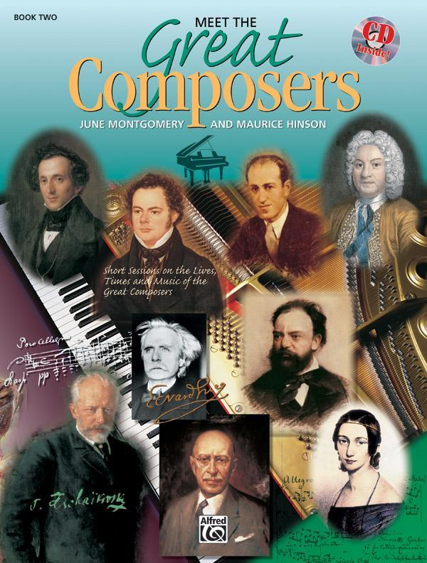 Meet the Great Composers, Book 2 (Piano Book & CD)