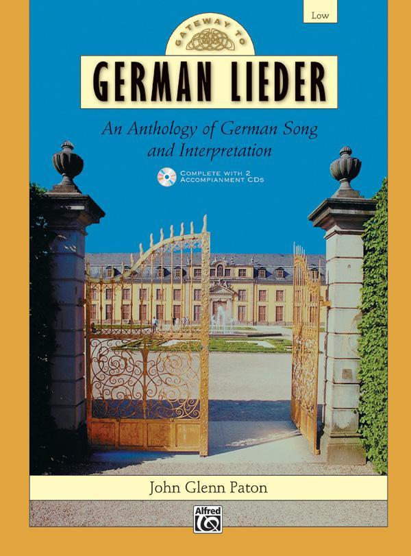 Gateway to German Lieder (Low Voice Book & 2 Acc. CDs)
