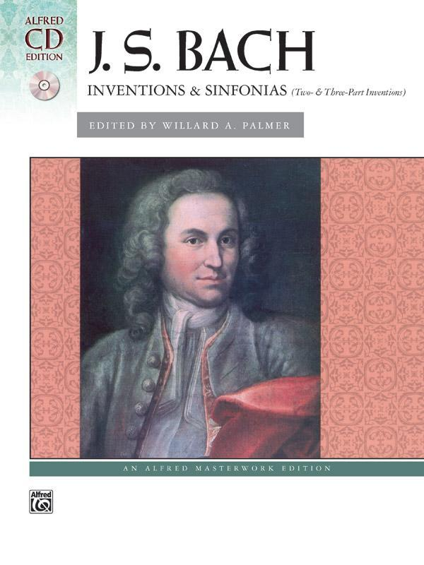 Inventions & Sinfonias (Two- & Three-Part Inventions) with CD