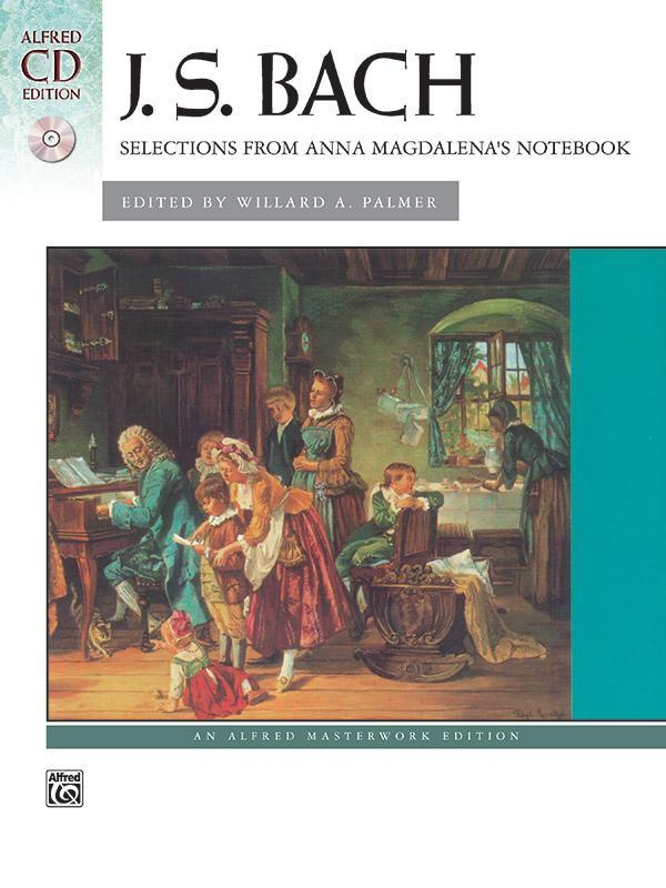 Selections from Anna Magdalena's Notebook (Piano Book & CD)