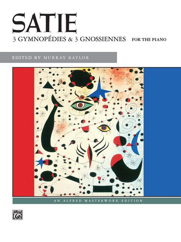 3 Gymnopédies & 3 Gnossiennes (Piano Book)