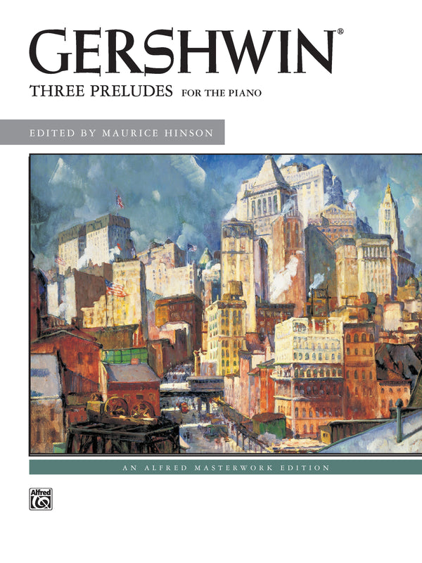 George Gershwin: Three Preludes (Piano Book)