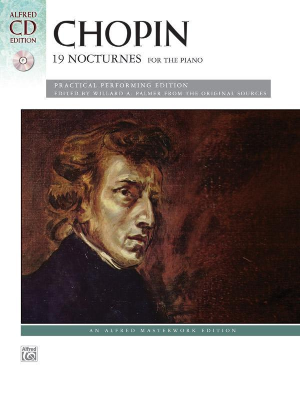 Chopin: 19 Nocturnes (Piano Book & CD)