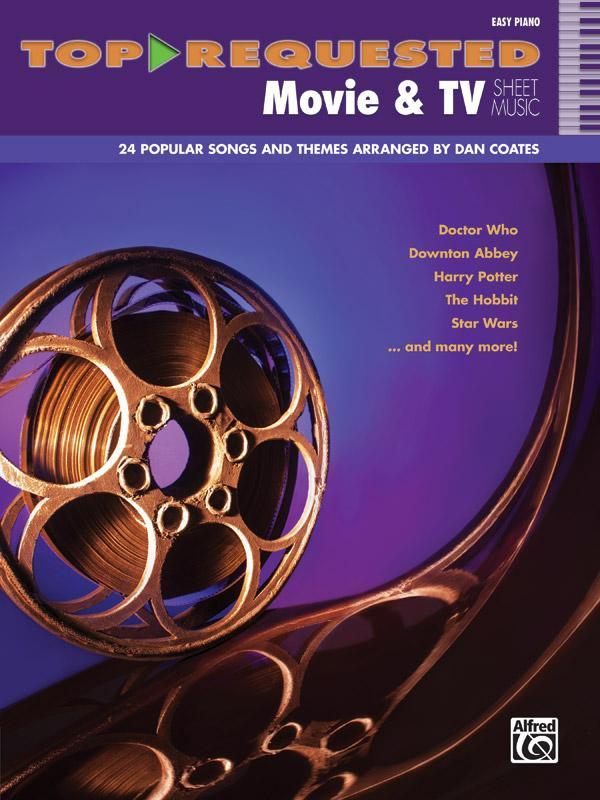 Top-Requested Movie & TV Sheet Music
