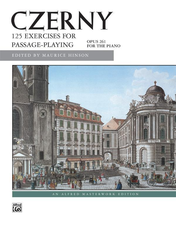 125 Exercises for Passage Playing, Opus 261