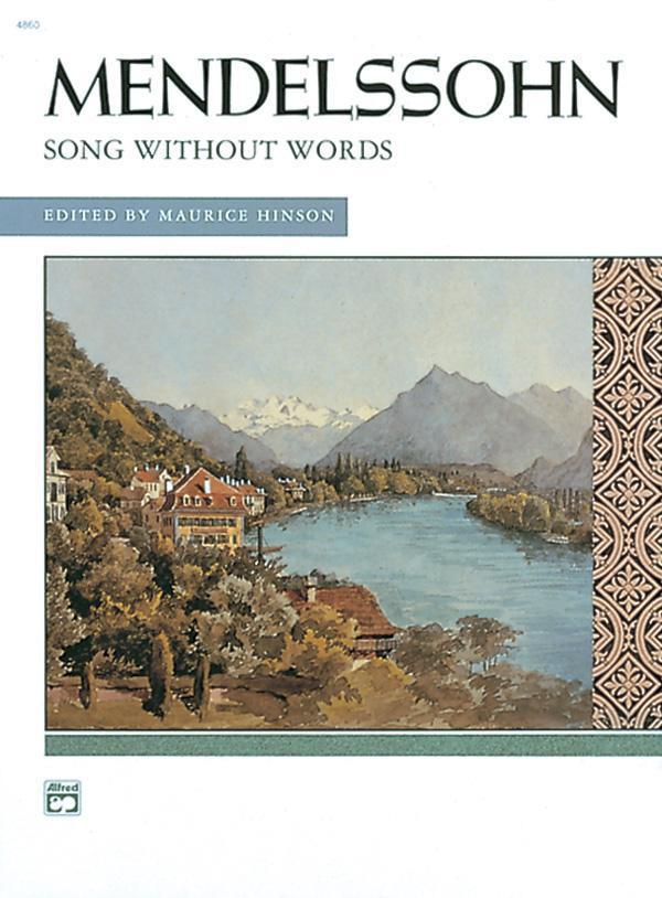 Songs Without Words (Complete) - Piano Comb Bound Book