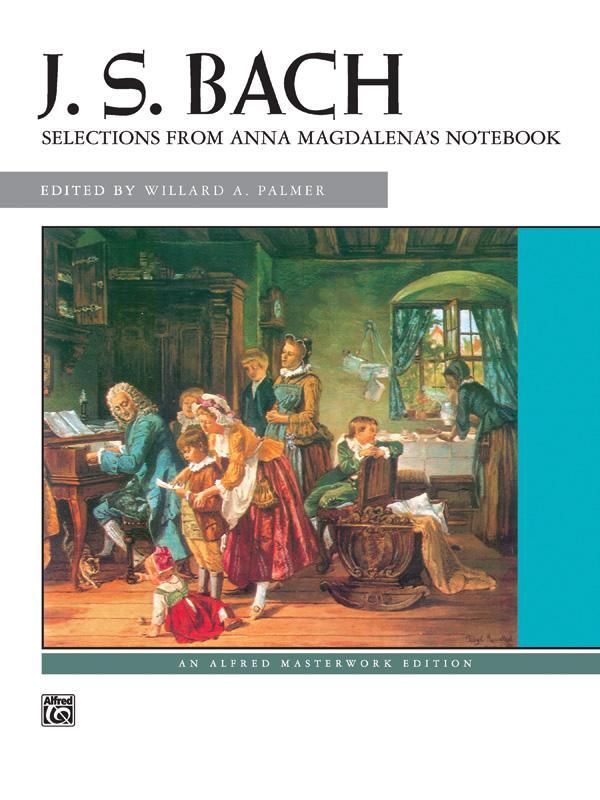 Selections from Anna Magdalena's Notebook (Piano Book)