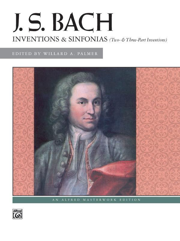 Inventions & Sinfonias (Two- & Three-Part Inventions) Book