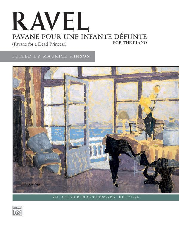 Maurice Ravel: Pavane pour une infante défunte (Early Advanced)